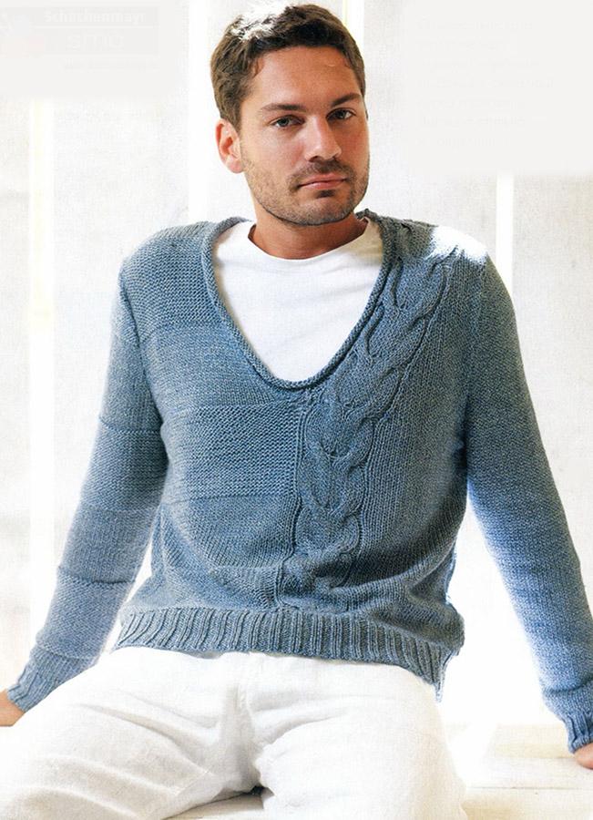Вязание для мужчин со схем