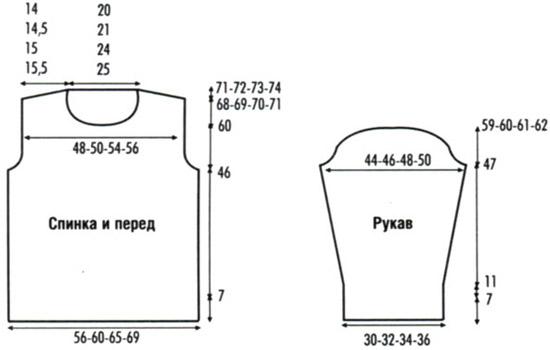 Схема свитера для йорка спицами фото 984