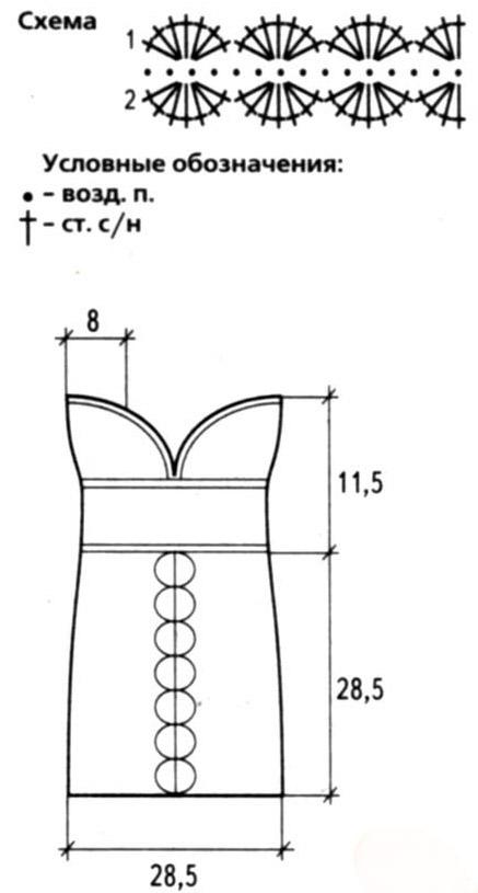 Примеры вязания на спицах детского конверта