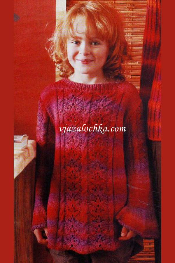 Вязание на спицах для подростков девочек со схемами 27