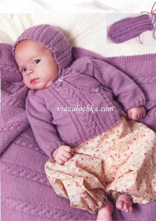 Вязание спицами для малышей