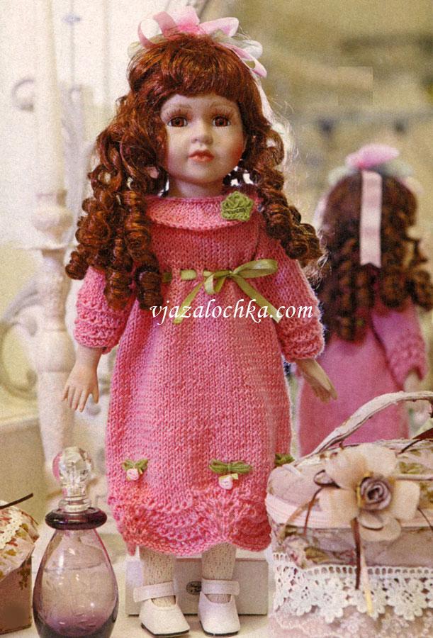 Вяжем спицами кукол