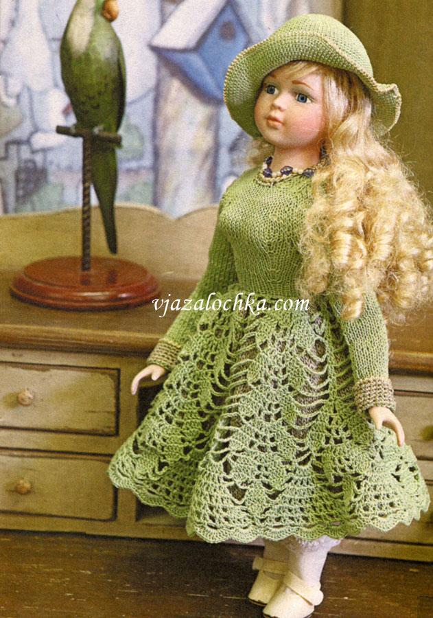 Комментарий: одежда для кукол крючком - Мода и.