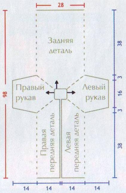 Вязание новорожденным конверты схемы 76