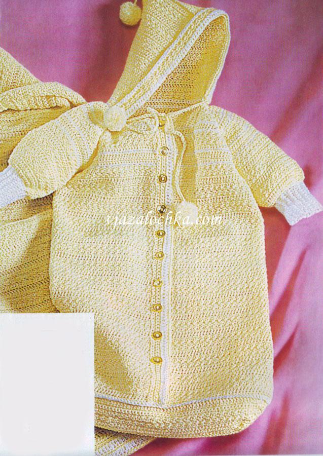 Вязание для новорожденных спицами с