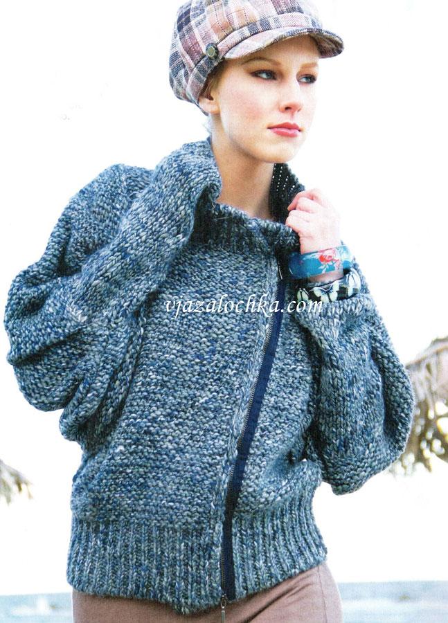 Вязание для женщин. Куртка