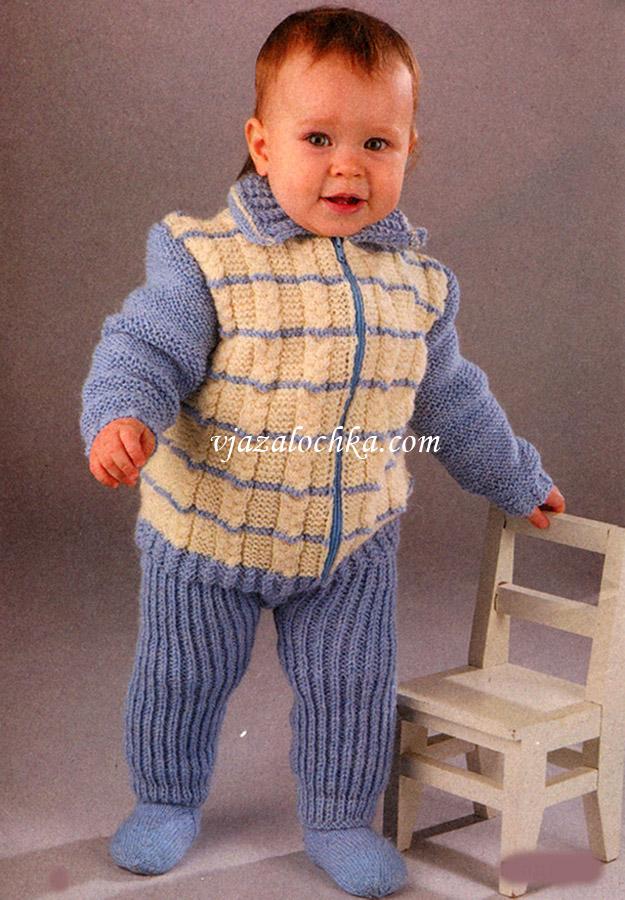 штанишки) на малыша связан