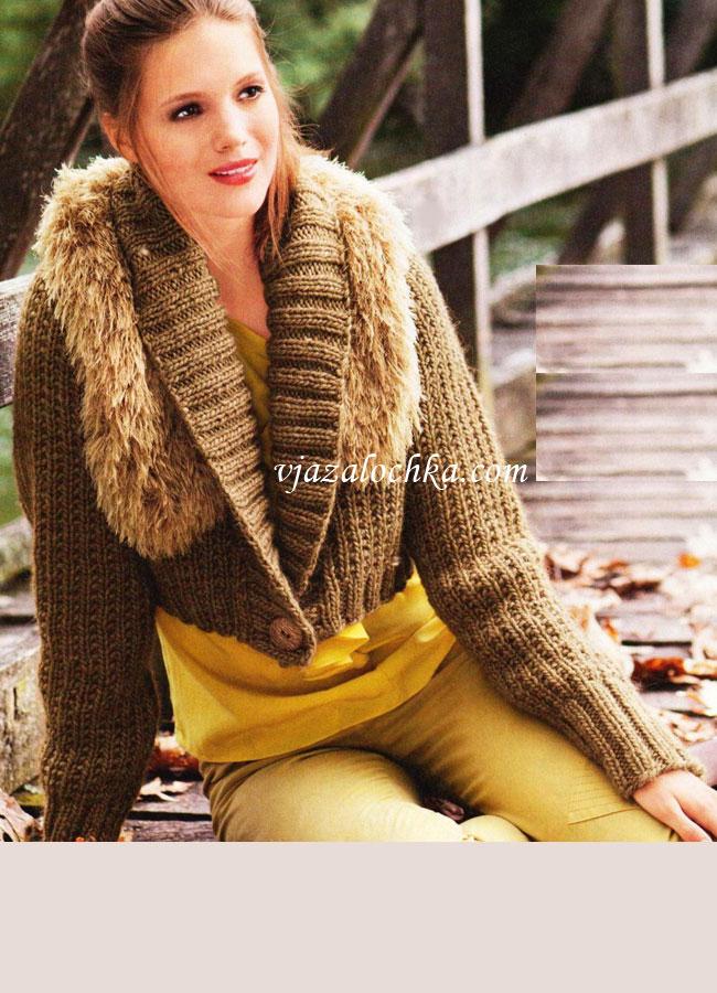 Вязание для женщин. Вязание спицами. Болеро