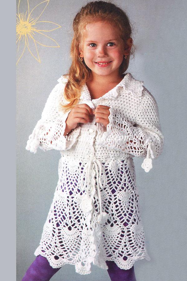 На фото вязание для девочек вязание