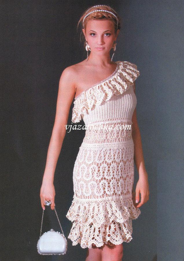 Платье из брюггского кружева