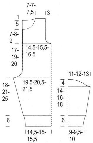 Выкройки и схемы вязания комбинезонов для новорожденных спицами