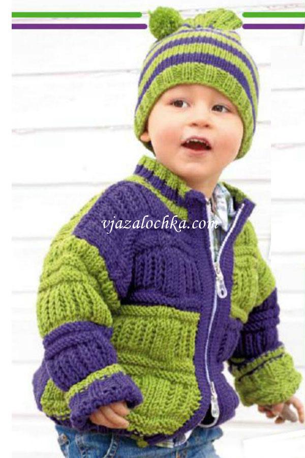 Вязание спицами. Вязание для детей