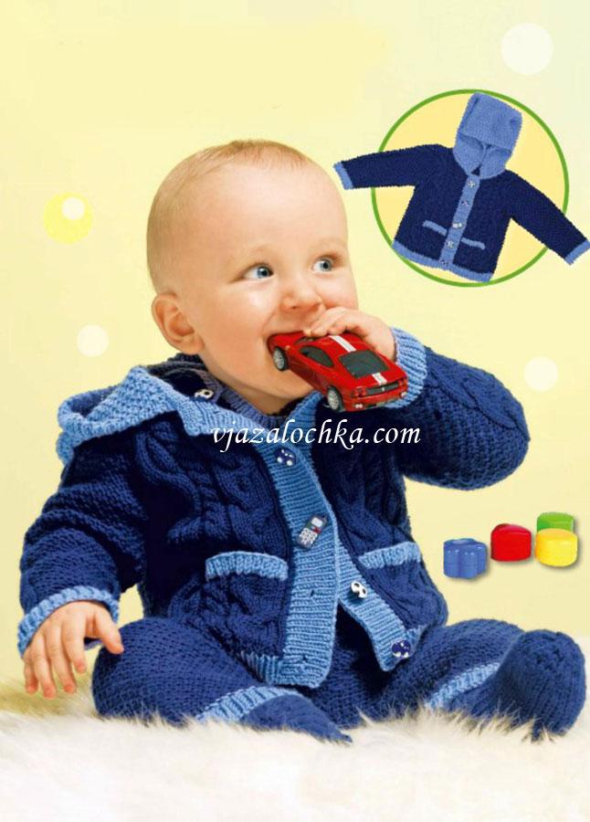 Вязание для новорожденных.