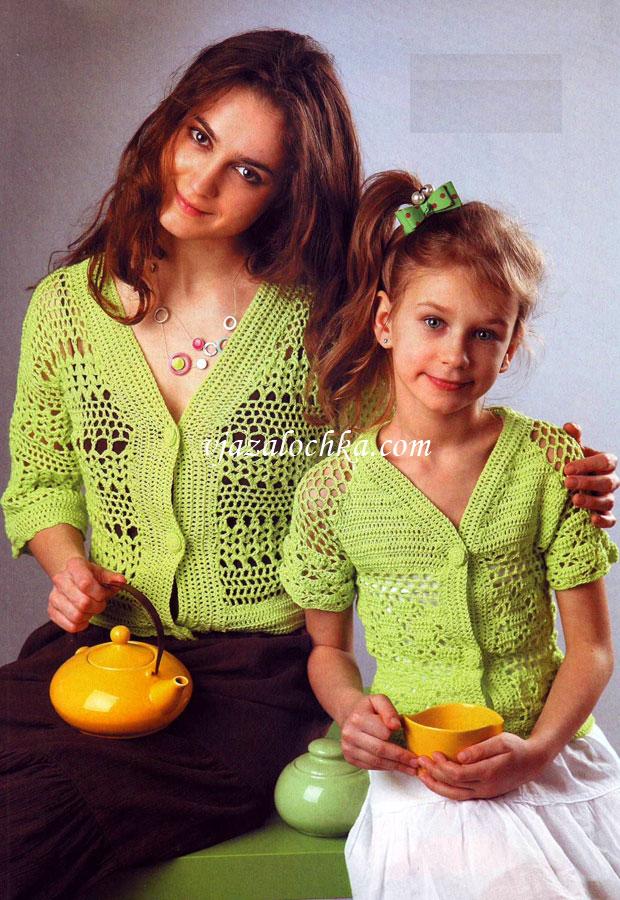 Вязание для мамы спицами