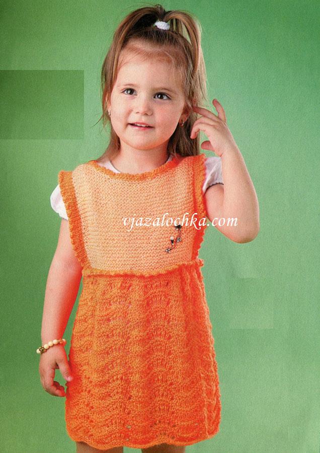 Вязание босоножек для детей