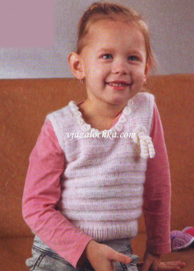 Жилетка для малыша спицами схема фото 363