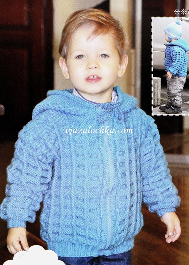 Детская свитер мальчика вязание