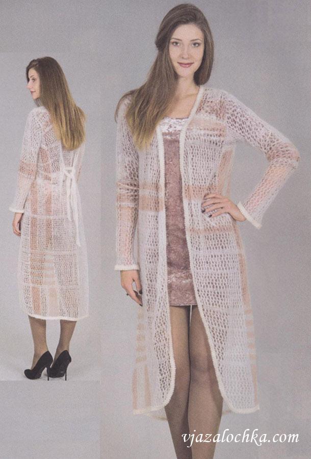 Вязаное пальто Merino - Classic Perevod