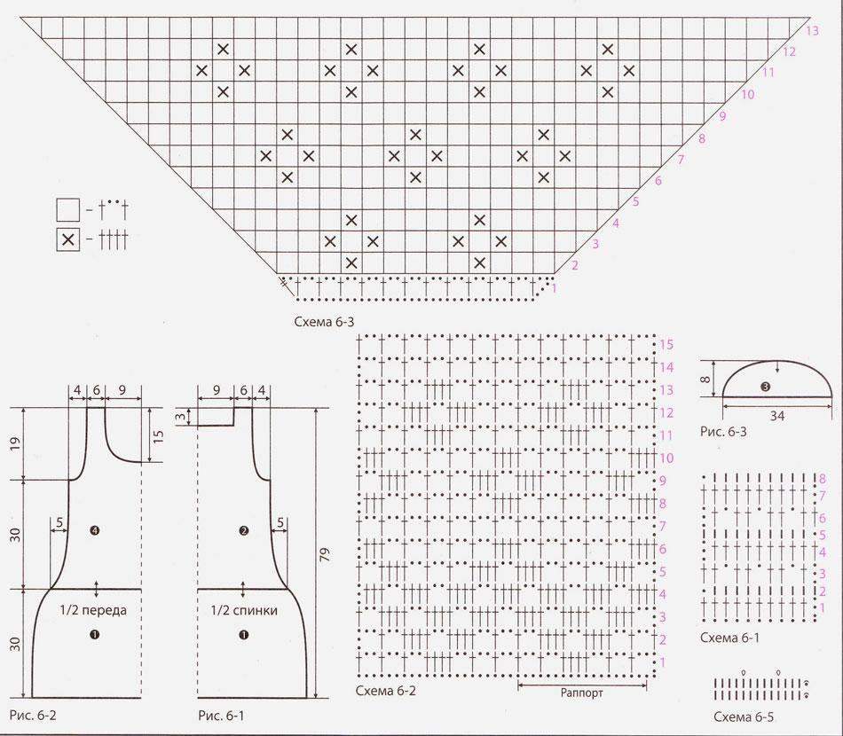 Кофта Вязание крючком топы майки филейная сетка