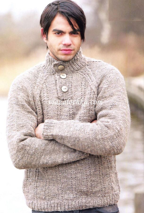 Мужские вязаные джемпера и свитера