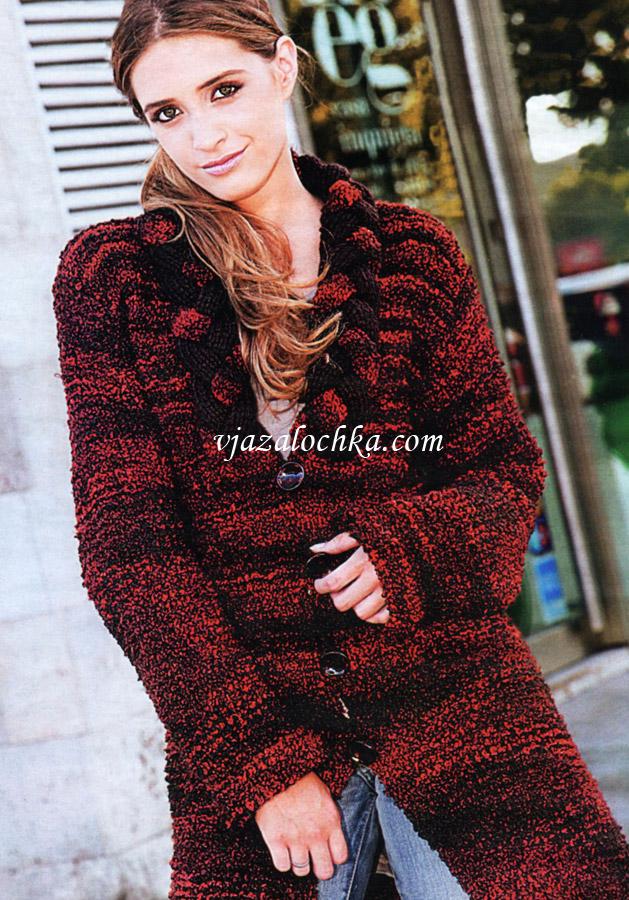 Вязание крючком пальто