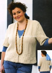 Пуловеры для полных женщин