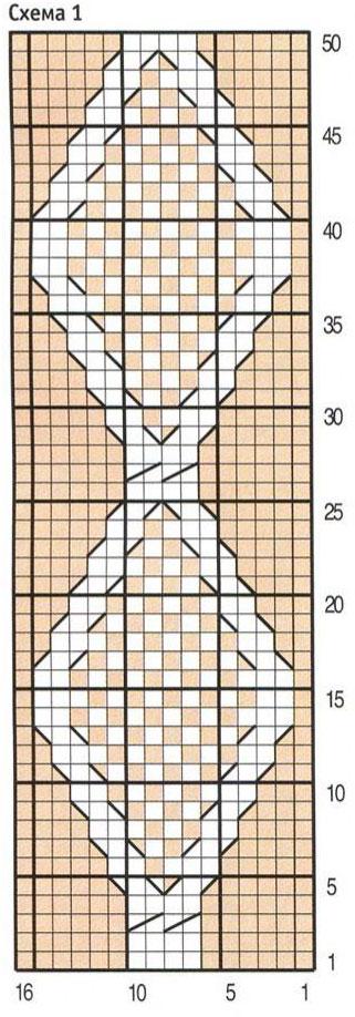 Частичное вязание для реглана 613