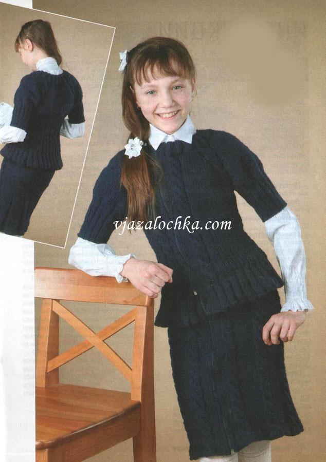 Вязание костюм на девочку 5 лет 816